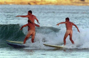 Summer Nude Surfing