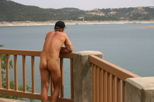 Hippie Hollow Nude Beach Overlook