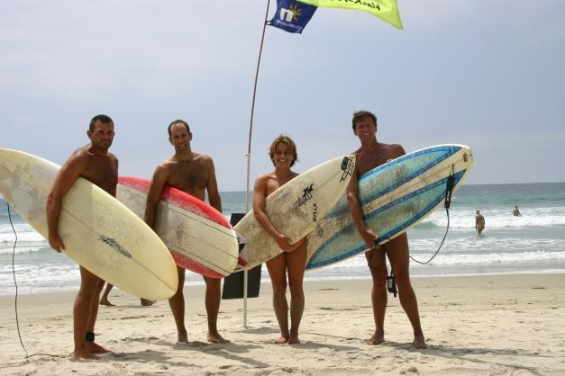 Blacks' Beach Nude Surf Session