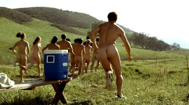 Nude 5K Run in Southern California