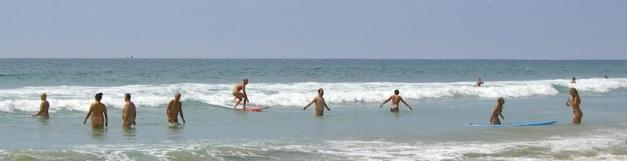 Nude Beach Summer Fun
