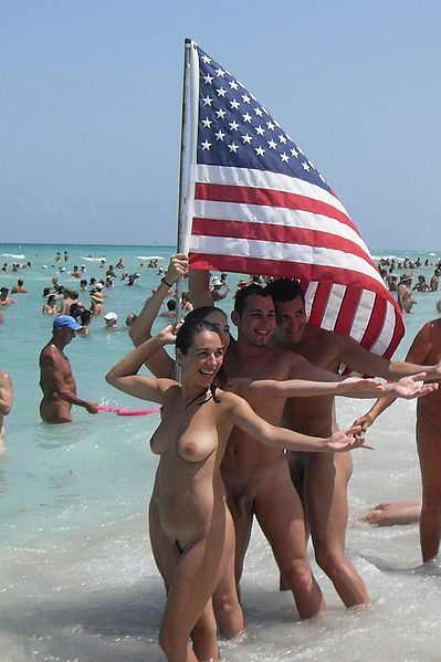 Skinny Dipping at Haulover Beach in 2009