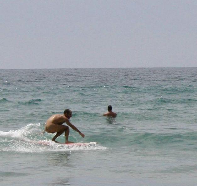 Black's Beach Nude Surf Contest